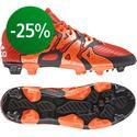 adidas - X 15.1 FG/AG Punainen/Oranssi/Musta Lapset