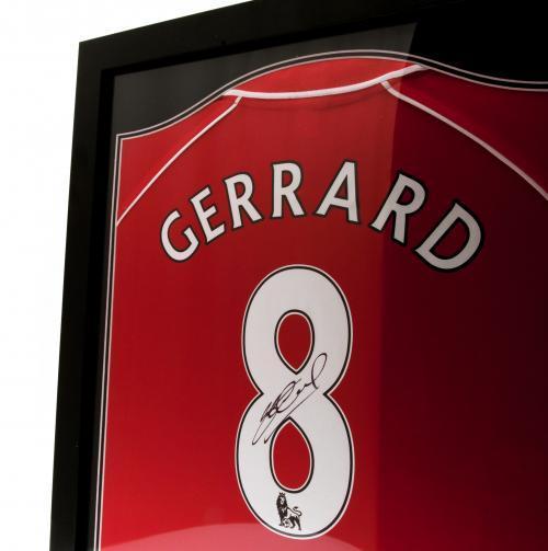nike free pas chere - Liverpool Maillot de Gerrard Sign�� (Encadr��) | www.unisportstore.fr