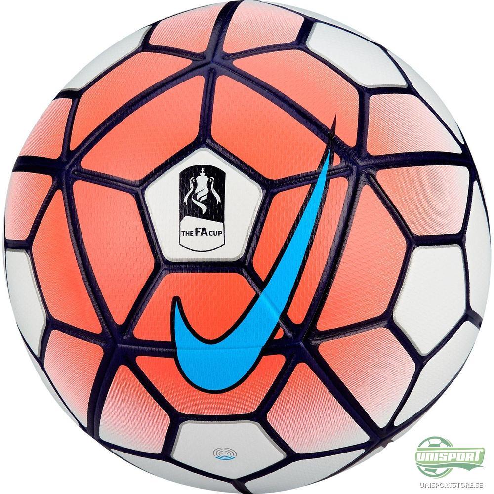 Nike Fotboll Ordem III FA Cup Röd Vit bf6f41c52d67b