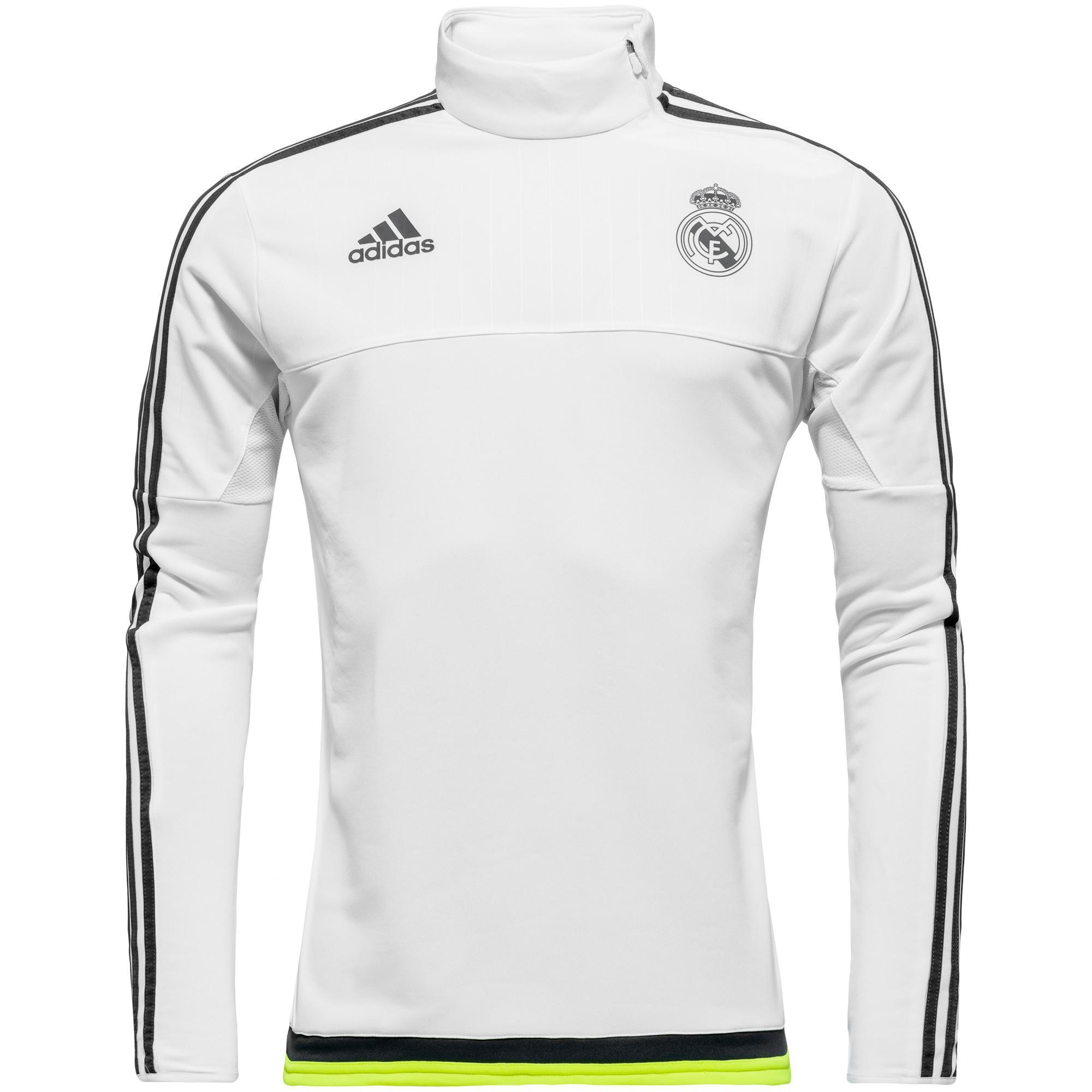 613a7e1e Real Madrid – Treningsgenser Hvit/Navy/Gul Barn