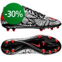 Nike - Hypervenom Phelon II Neymar Jr FG Musta/Punainen/Valkoinen