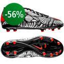 Nike - Hypervenom Phelon II Neymar Jr FG Musta/Punainen/Valkoinen Lapset