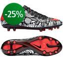 Nike - Hypervenom Phinish Neymar Jr FG Musta/Punainen/Valkoinen