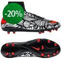 Nike - Hypervenom Phatal II Neymar Jr FG Musta/Punainen/Valkoinen