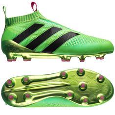 adidas - ace 16 purecontrol fg/ag grønn/rosa/sort