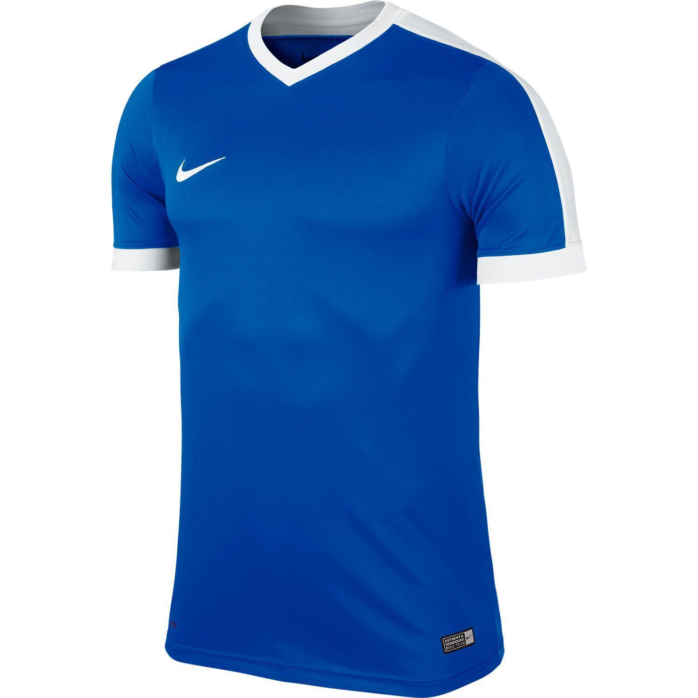 Nike Maillot Striker IV Bleu Blanc Junior