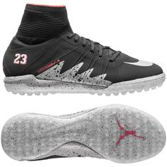 230e31d64b804c Nike - HypervenomX Proximo Neymar x Jordan Black Metallic Silver Light  Crimson TF Kids