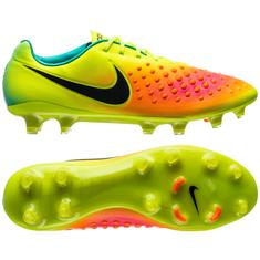 007f833ce9f2 Nike Magista Opus II FG Volt Black Total Orange Pink Blast Hyper