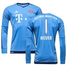 Bayern München Målmandstrøje 2015/16 Blå NEUER 1