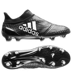 size 40 58d10 bcbfc adidas X 16+ PureChaos FG AG Chequered Black - Core Black White