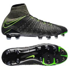 new product 8dc66 d8d23 Nike Hypervenom Phantom 3 DF FG Tech Craft - BlackElectric GreenSequoia