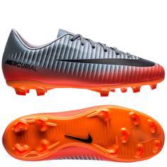c7df84d07d43 Nike Mercurial Victory VI CR7 Chapter 4 FG - Cool Grey/Orange Kids