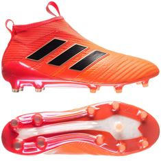 adidas ACE 17+ PureControl FG/AG Pyro Storm - Solar Orange/Core Black/Solar Red