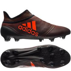 adidas X 17+ PureSpeed FG/AG Pyro Storm - Core Black/Solar Red/Solar Orange