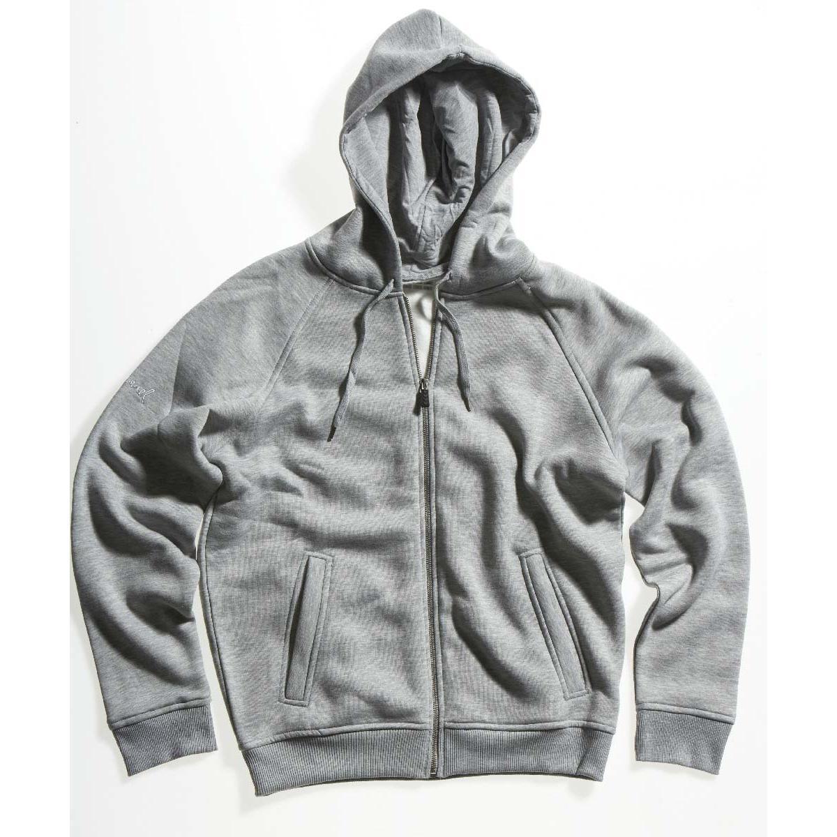 Hummel - Hættetrøje Corporate Basic Zip Grå
