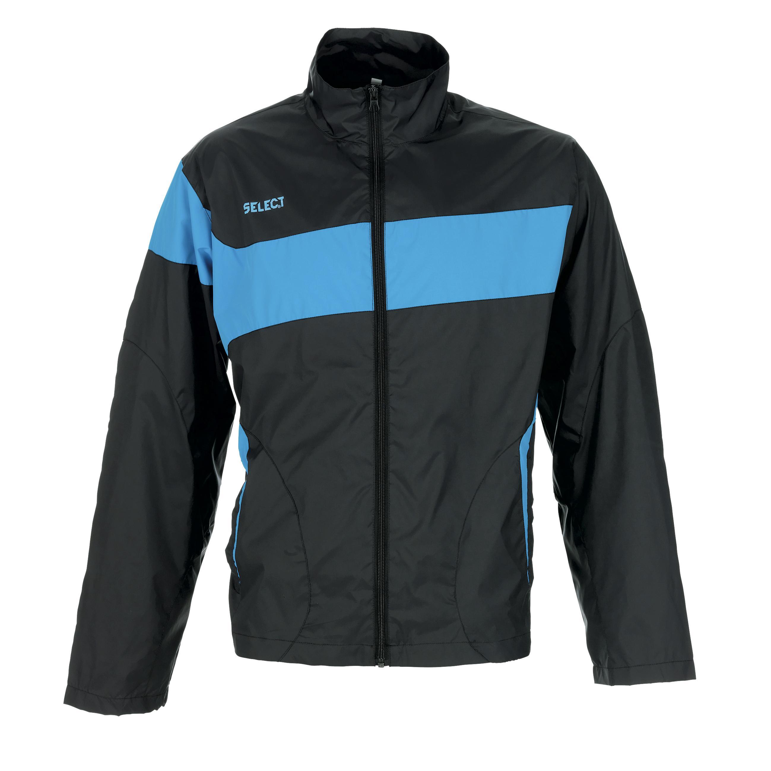 Select - Træningsjakke Allweather Gijon Navy/Lyseblå