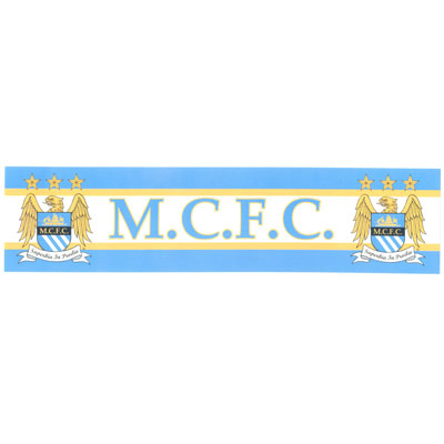 Manchester City - Bil Klistermærke