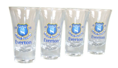 Everton - Shotglas 4