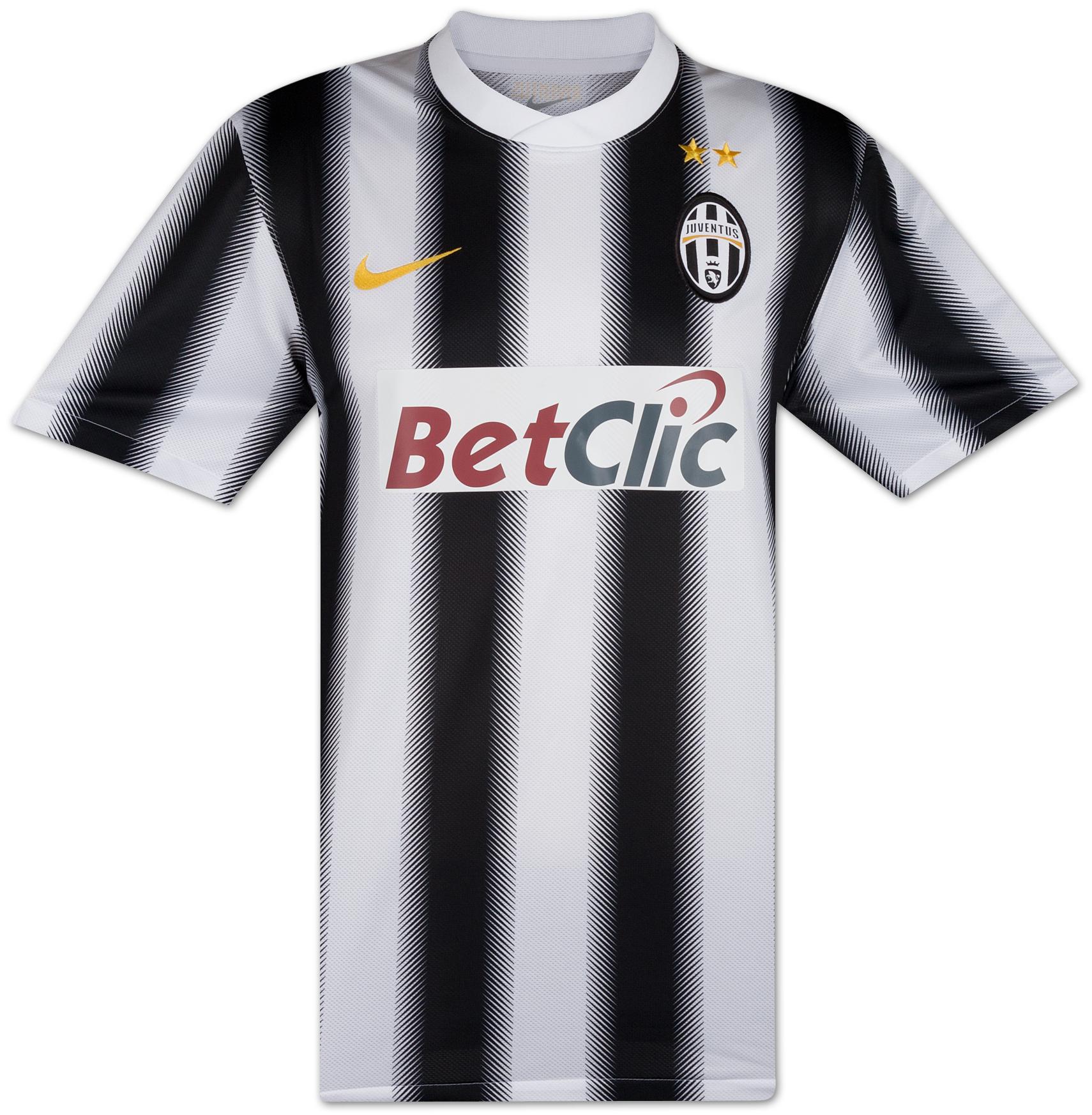 Juventus - Hjemmebanetrøje 11/12 Børn