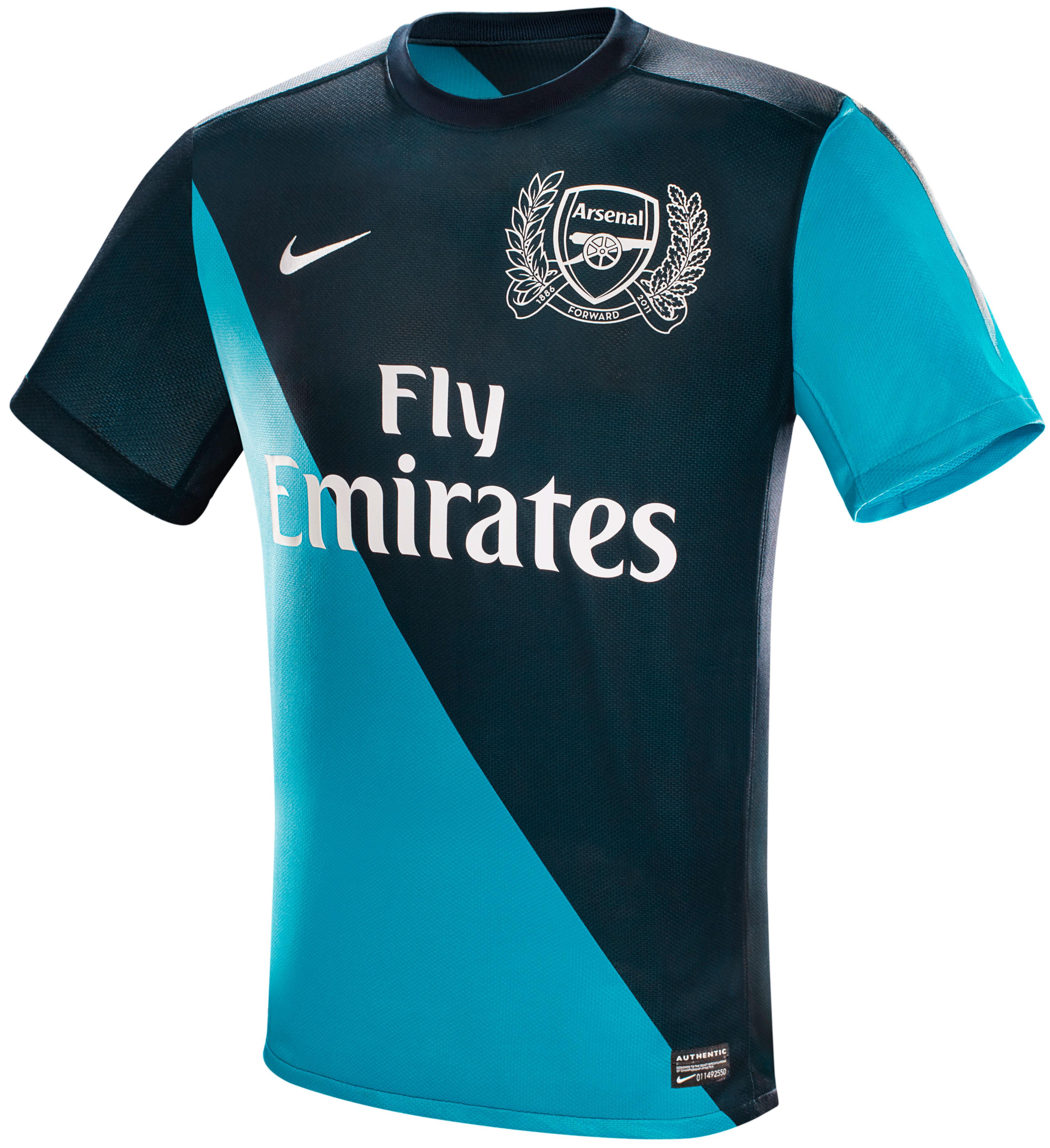 Arsenal - Udebanetrøje 11/12 Børn