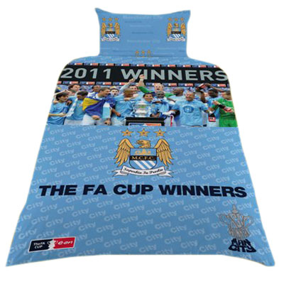 Manchester City - Sengesæt FA Cup Winners
