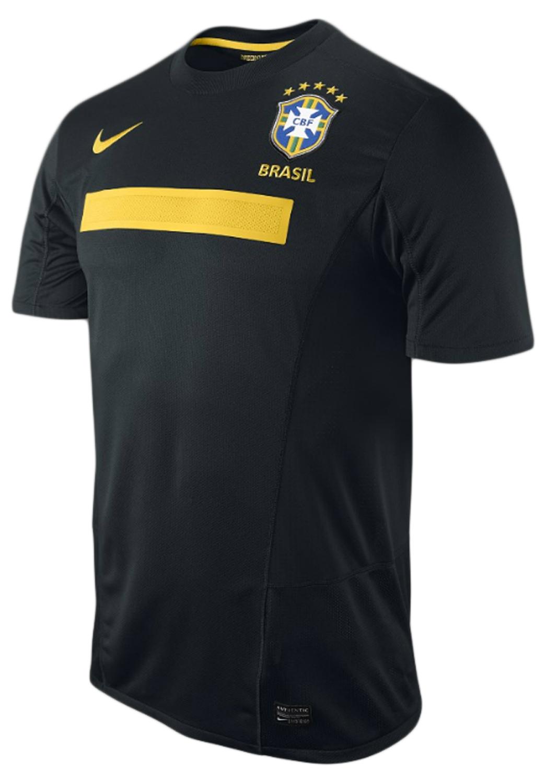 Brasilien - Udebanetrøje 11/12 Børn Sort