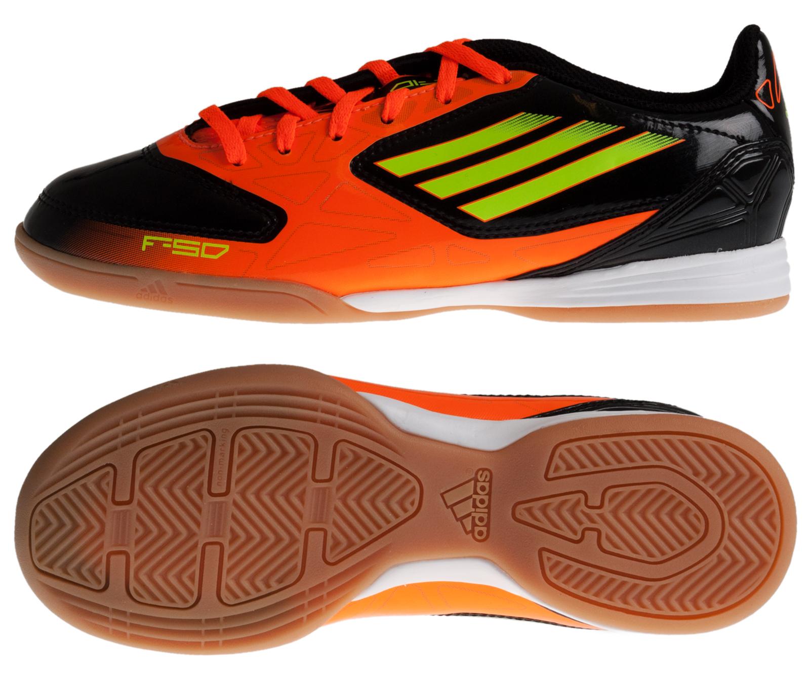 adidas - F10 IN Sort/Orange Børn