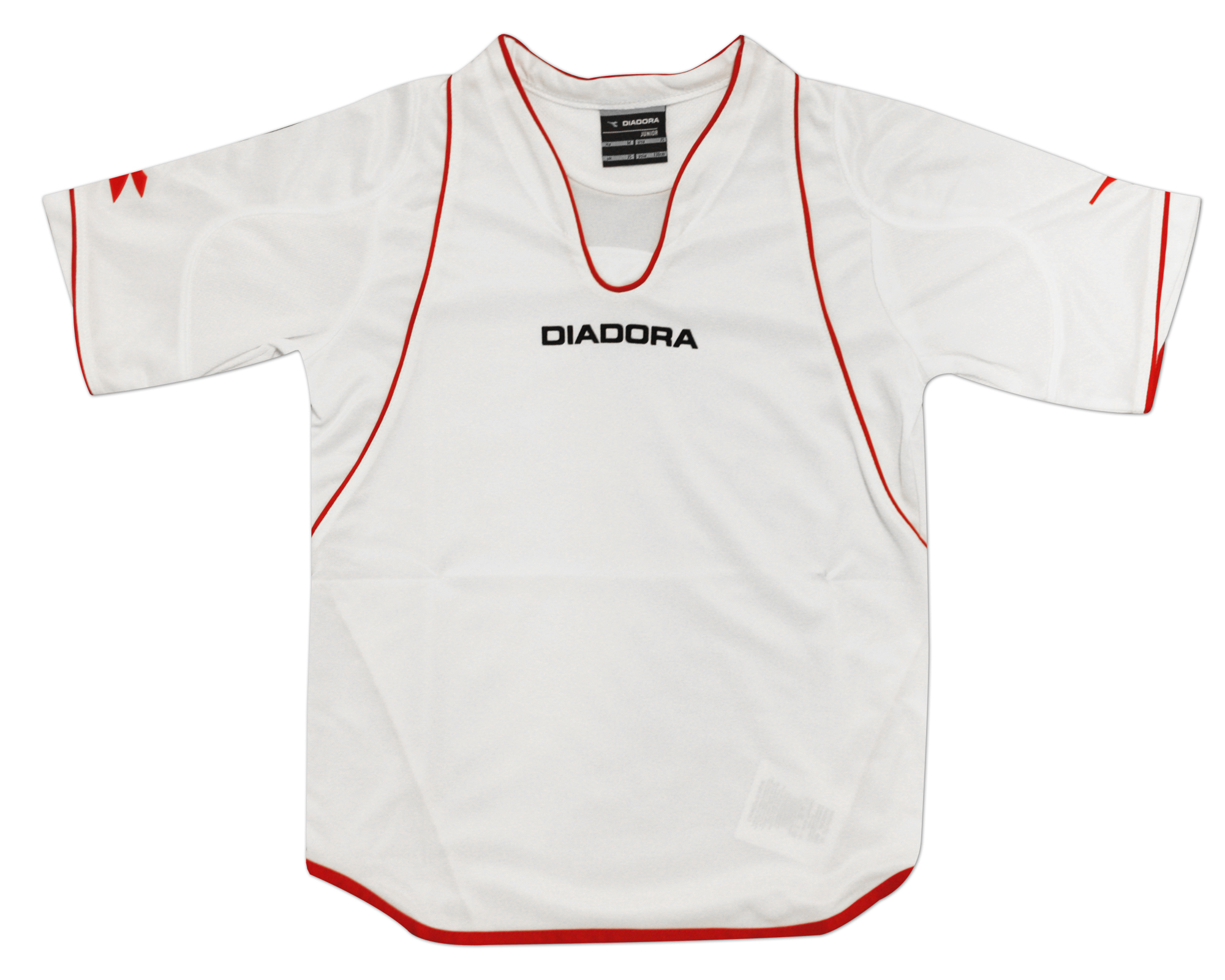 Diadora - Spilletrøje Gammarete Hvid/Rød Børn