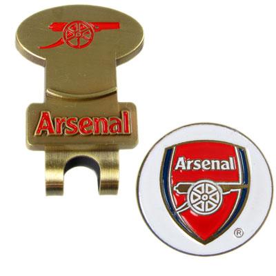 Arsenal Hattklämma & Golfmarkör