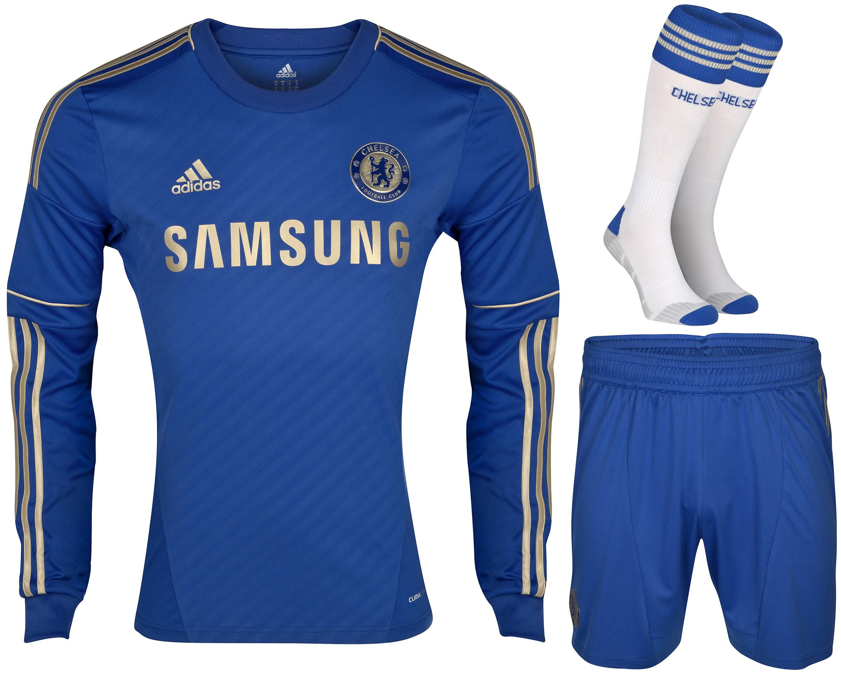 Chelsea - Hjemmebanesæt 2012/13 L/Æ