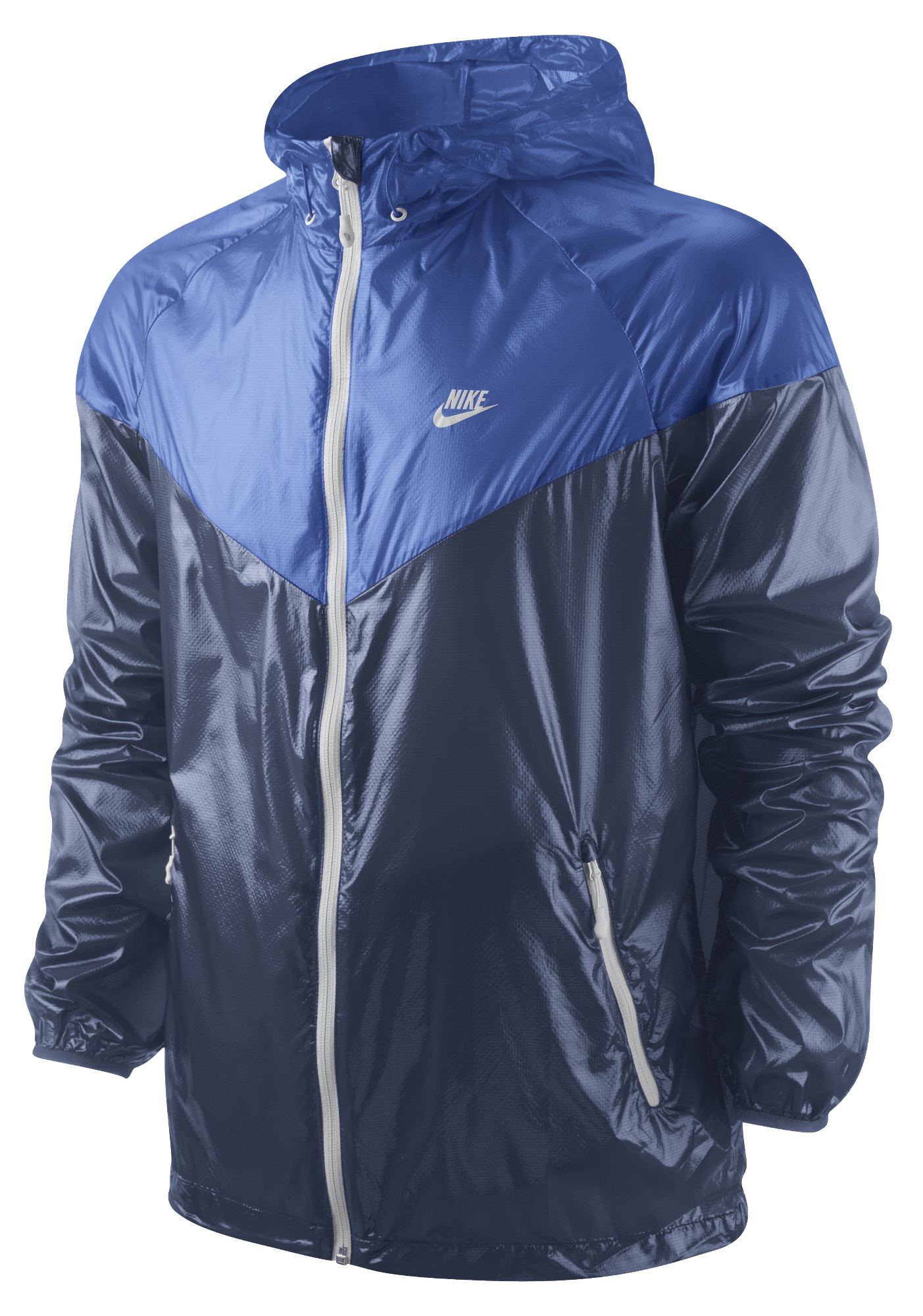 Nike - Windrunner Summerized Blå/Navy