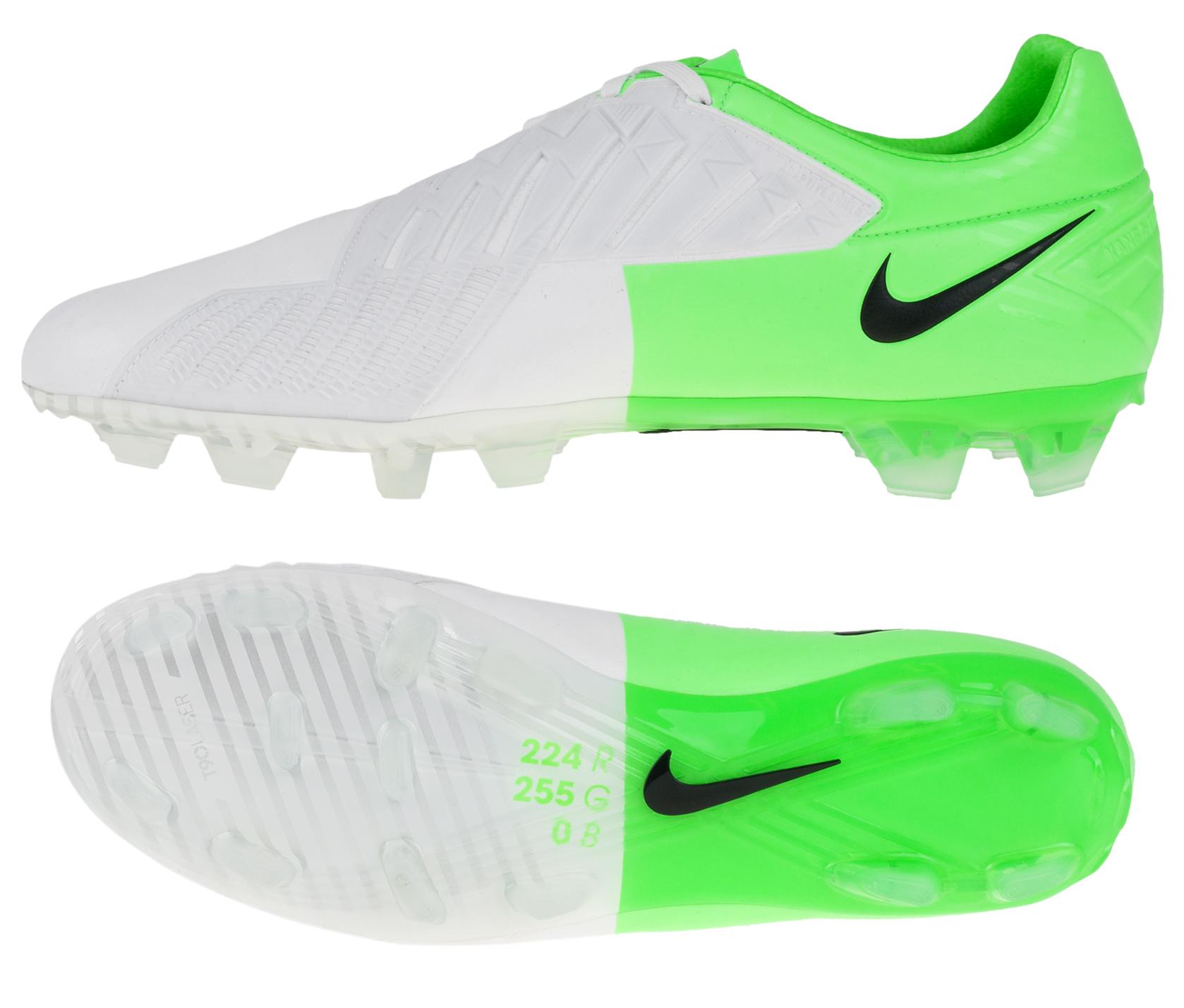 Nike - Total90 Laser IV KL FG Hvid/Grøn