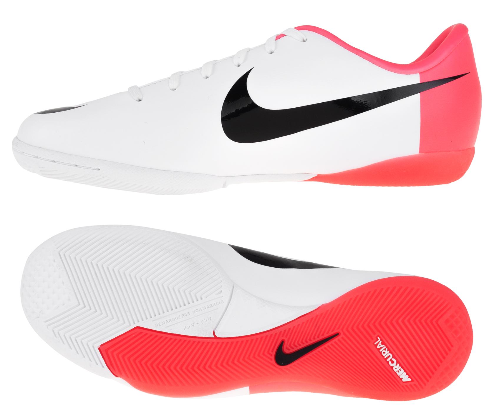 Nike - Mercurial Victory III IC Hvid/Rød Børn
