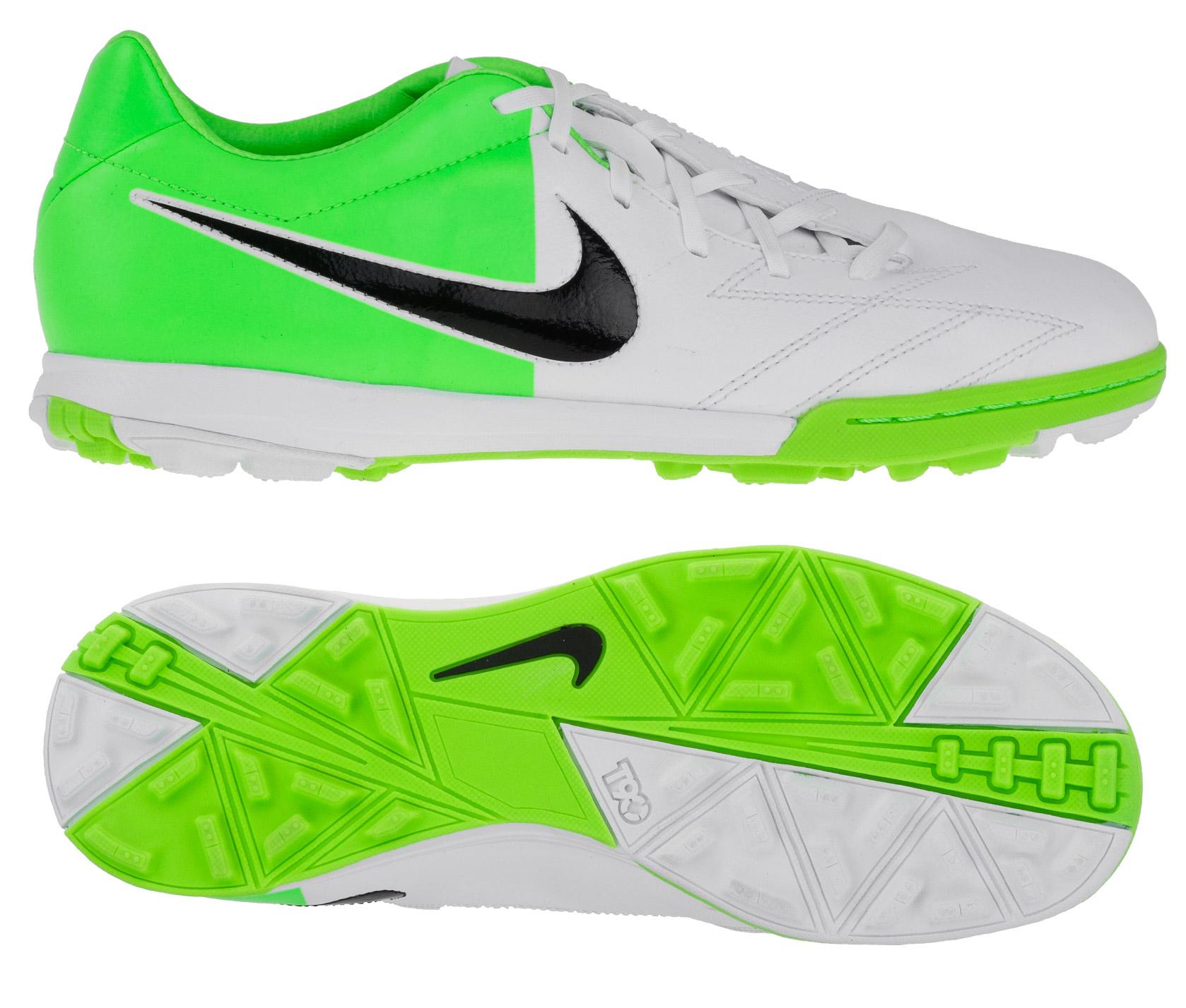 Nike - Total90 Shoot IV TF Hvid/Grøn