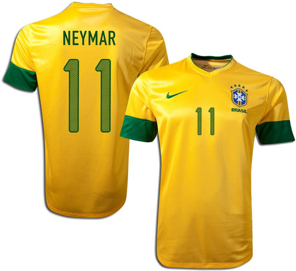 Brasilien - Hjemmebanetrøje 2012/13 Børn NEYMAR 11