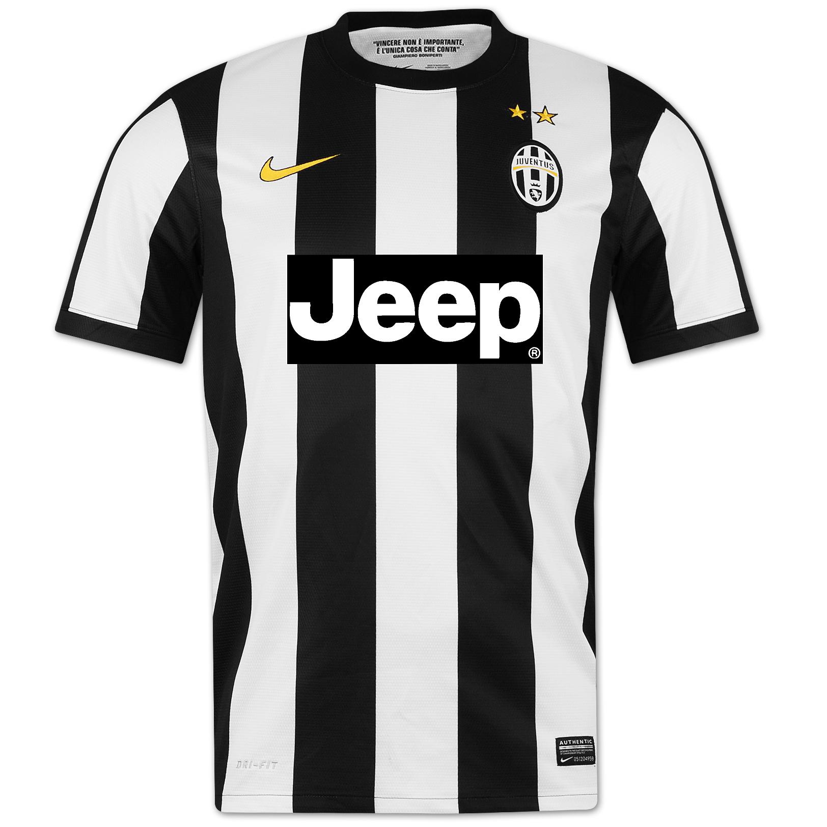 Juventus - Hjemmebanetrøje 2012/13 Authentic