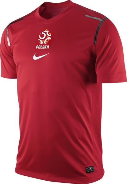 Polen - Trænings T-Shirt Pre Match Rød