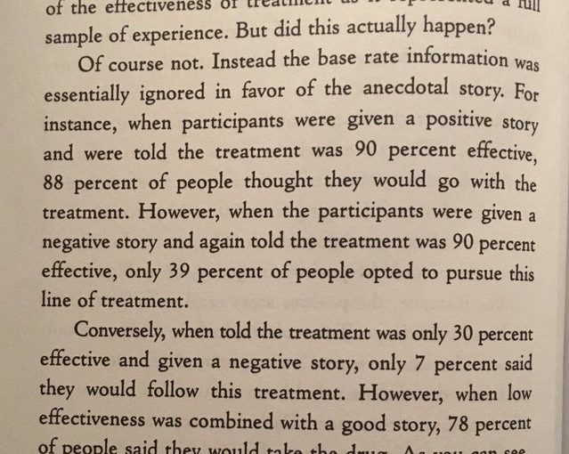 💎 On stories persuading us more than bland stats (even for the most serious of matters)
