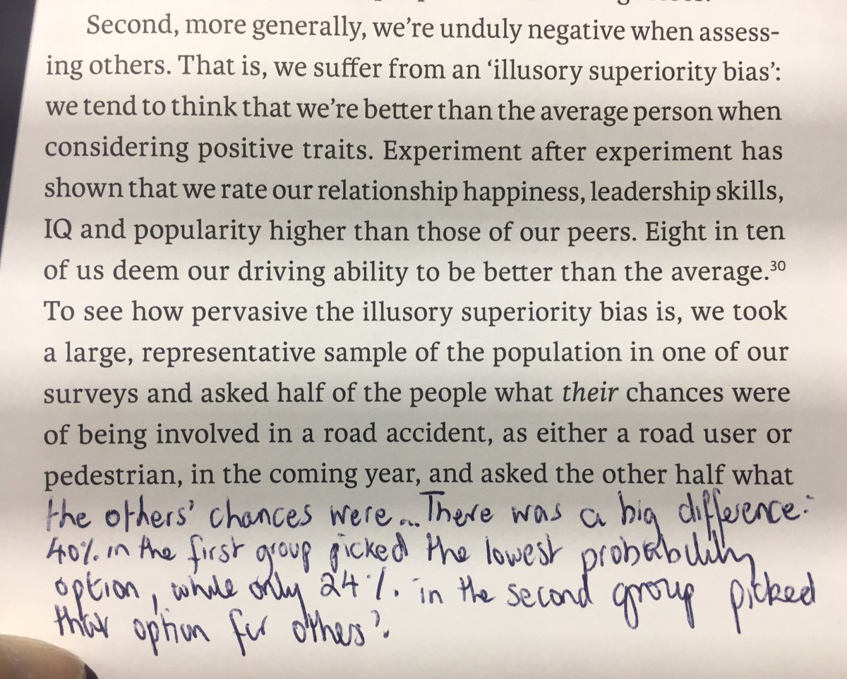 On the Illusory Superiority Bias