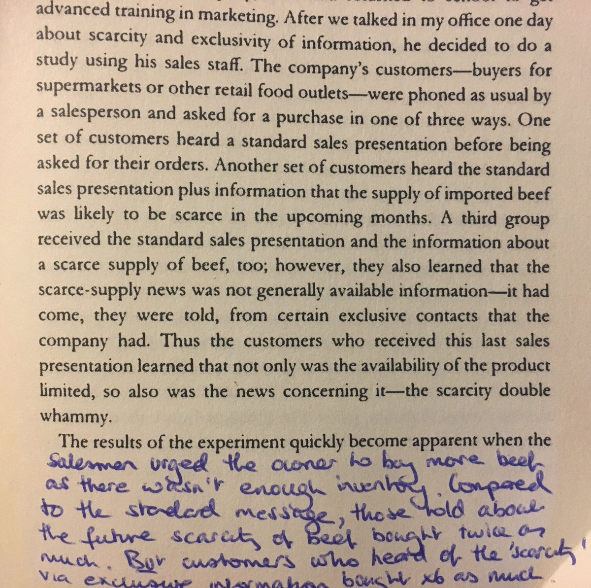 💎 On how scarcity of goods and exclusivity of information significantly increases sales (a double whammy)