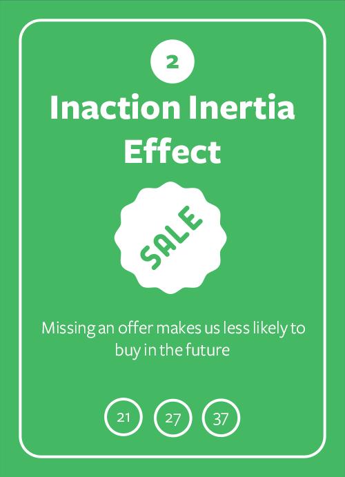 Inaction Inertia Effect