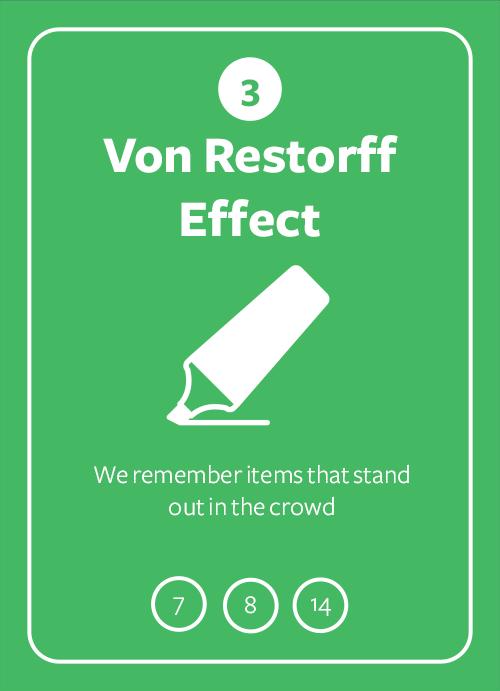 Von Restorff Effect