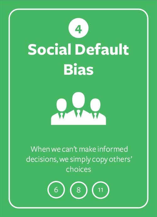 Social Default Bias