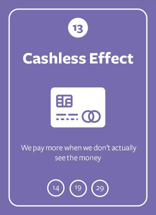 Cashless Effect
