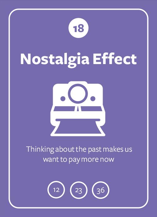 Nostalgia Effect