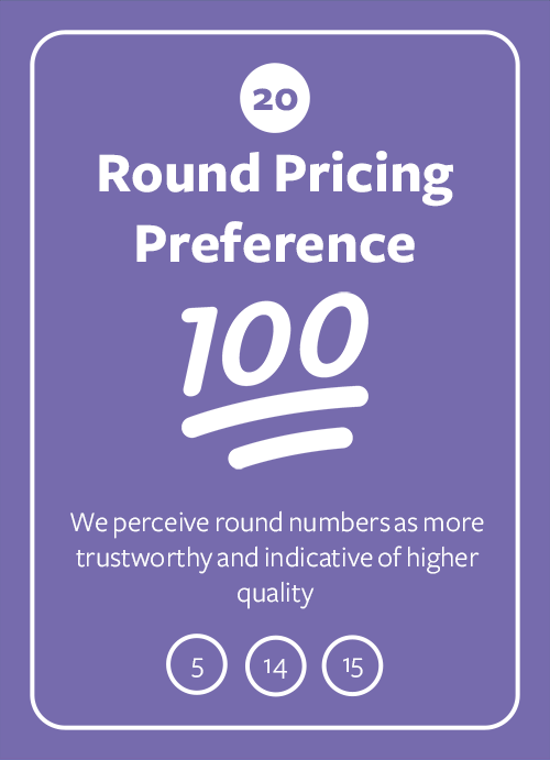 Round Pricing Preference