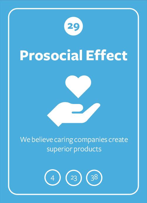 Prosocial Effect