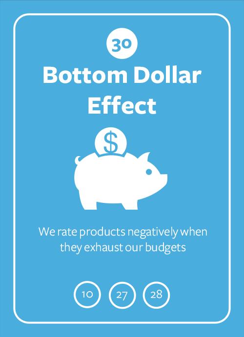 Bottom Dollar Effect