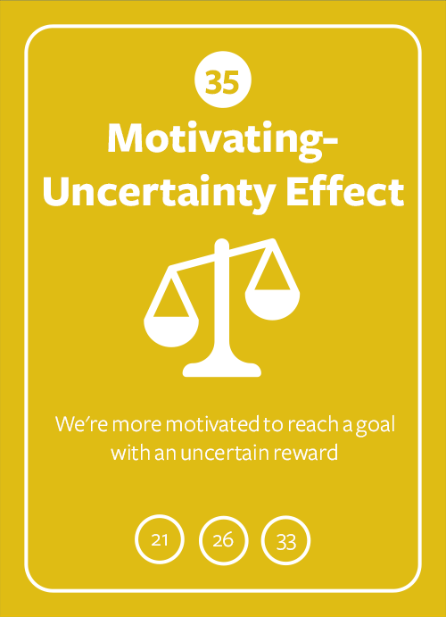 Motivating-Uncertainty Effect