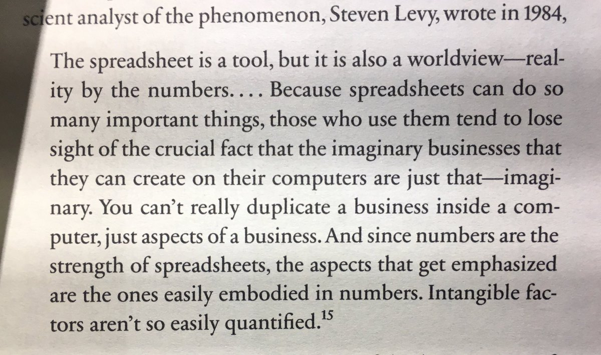 On the Downside of Spreadsheets and the Illusions they Create